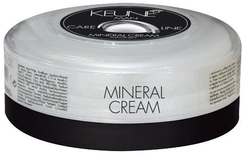 KEUNE Крем минеральный Кэе Лайн Мен / CL MINERAL CREAM 100млВолосы<br>Минеральный крем представляет собой универсальный стайлинговый крем для придания ослепительного блеска волосам и естественной фиксации прически. Входящие в состав комплекс природных минералов интенсивно питает волосы, делая их более мягкими и блестящими. Активный состав: Ройбос, горный хрусталь, карбо-гидраторы, природные минералы. Применение: Нанесите необходимое количество минерального крема на чистые волосы и приступайте к укладке.<br><br>Объем: 100<br>Пол: Мужской