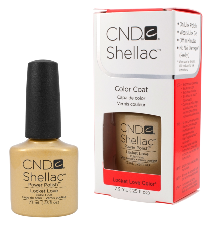CND 90626 покрытие гелевое / Locket Love SHELLAC 7,3 мл