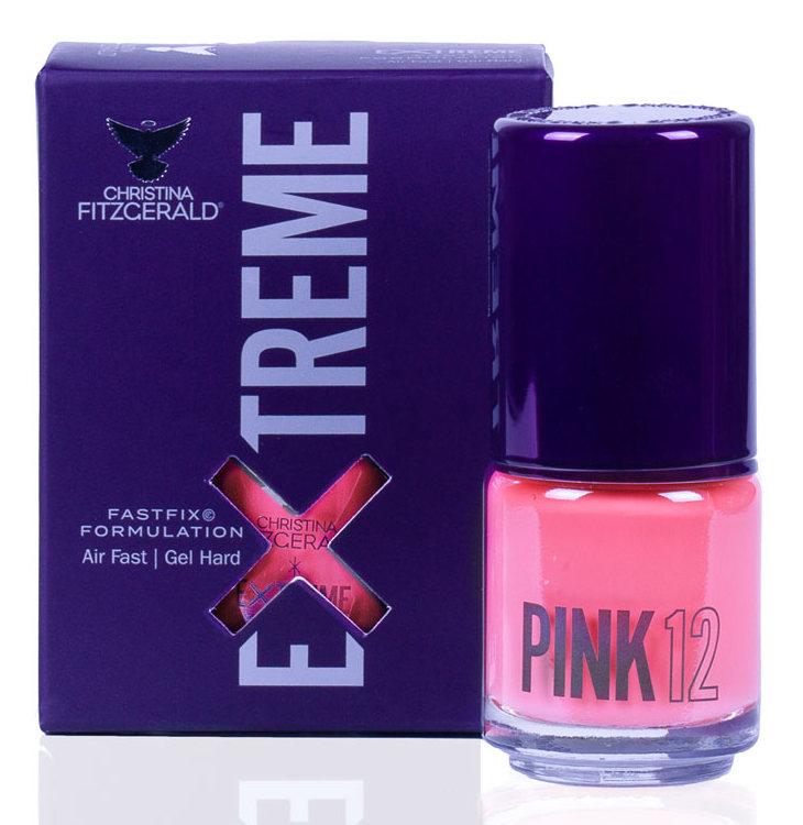 Купить CHRISTINA FITZGERALD Лак для ногтей 12 / PINK EXTREME 15 мл, Розовые