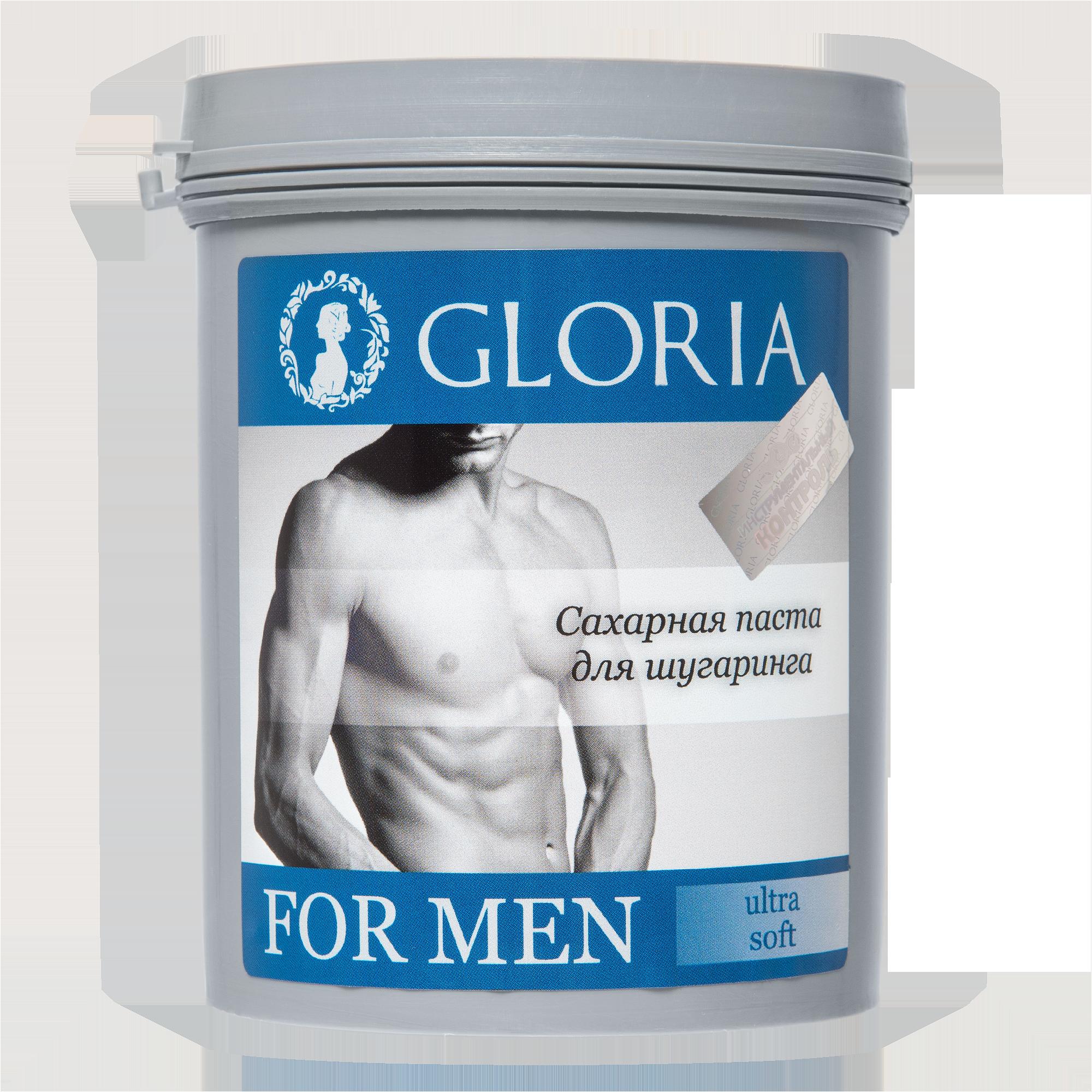 GLORIA Паста сахарная для депиляции FOR MEN Ultra Soft / GLORIA, 0,8 кг