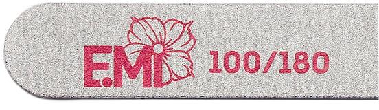 Купить E.MI Пилка для ногтей 100/180 / Zebra Standard