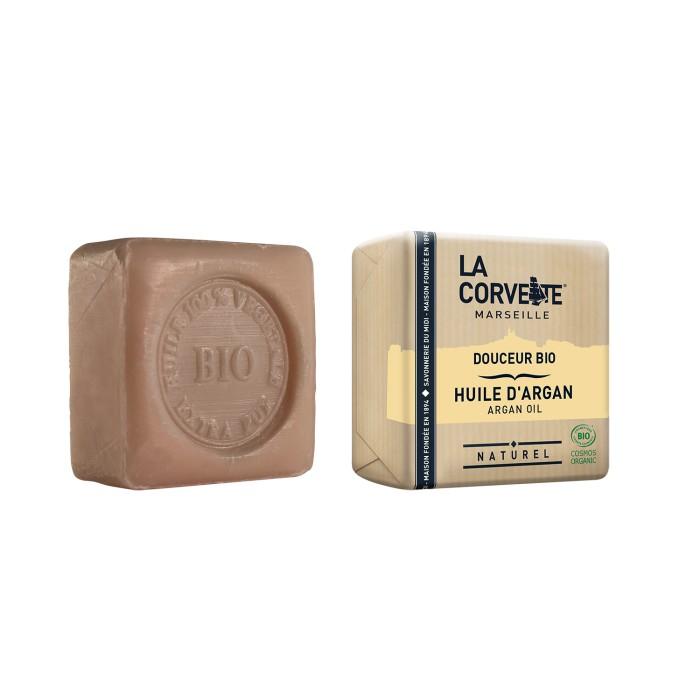 LA CORVETTE Мыло био-крем Масло Арганы 100 г - Мыла