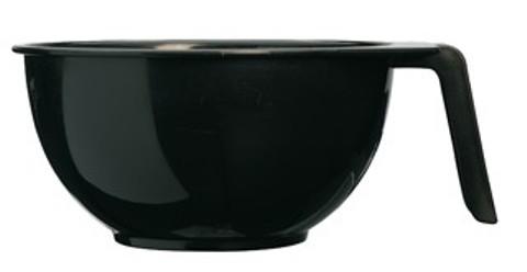 SIBEL Чаша S (10) для краски с ручкой черная (15211-02).