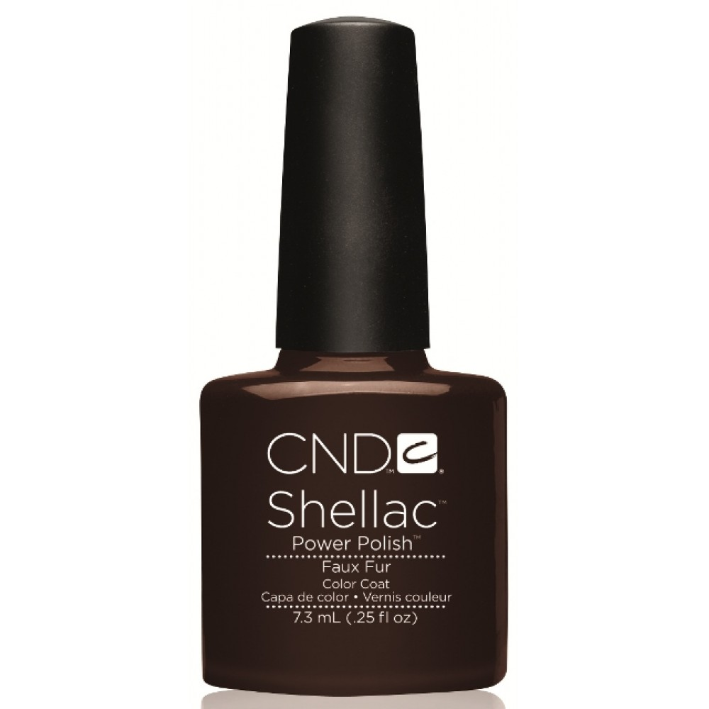 CND 046 покрытие гелевое Faux Fur / SHELLAC 7,3мл
