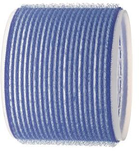 SIBEL Бигуди-лип.(10)S 80мм синие 3шт/уп SibelБигуди<br>Бигуди 80 мм синие с внешним слоем ворсистой ткани липучка, 3 штук в упаковке. Бигуди на липучках дают возможность очень быстро нанести их на волосы благодаря наличию на них мелких ворсинок липучек, они не закрепляются на волосах специальными приспособлениями, поэтому позволяют довести локон до самых корней волос не оставляя следов от зажимов и резинок.<br>