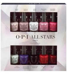 OPI Мини набор лаков All Stars(NLM23/L00/S86/F16/R44/H65/N47/N25/L87/W42) 10*3,75мл