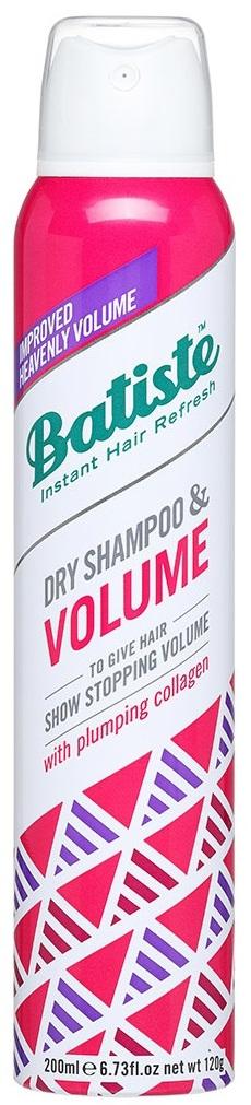 BATISTE Шампунь сухой для объема безжизненных волос, невидимая формула / HAIR BENEFITS VOLUME 200 мл