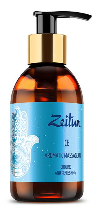 ZEITUN Масло ароматическое массажное Лед (мята перечная, лайм, лимон) 100 мл фото