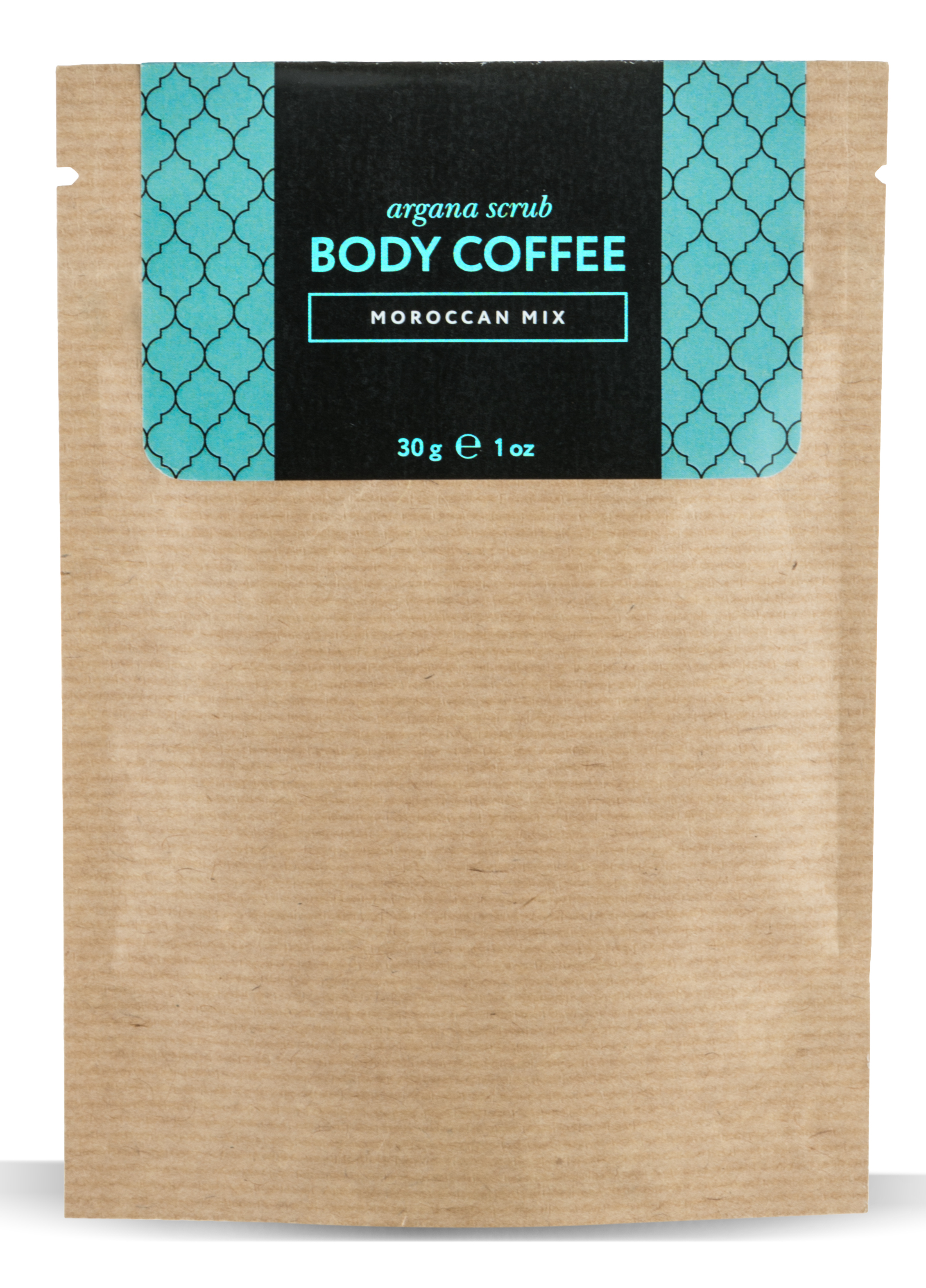 HUILARGAN Скраб аргановый кофейный для тела, марокканский микс 30 г