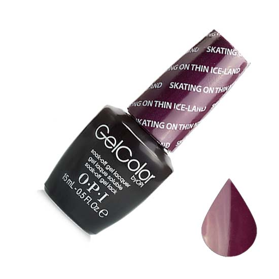 """OPI ����-��� ��� ������ """"Skating Thin Ice-land"""" / GELCOLOR 15��~"""