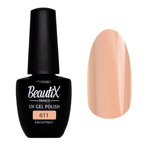 Купить BEAUTIX 611 гель-лак для ногтей 8 мл, Коричневые