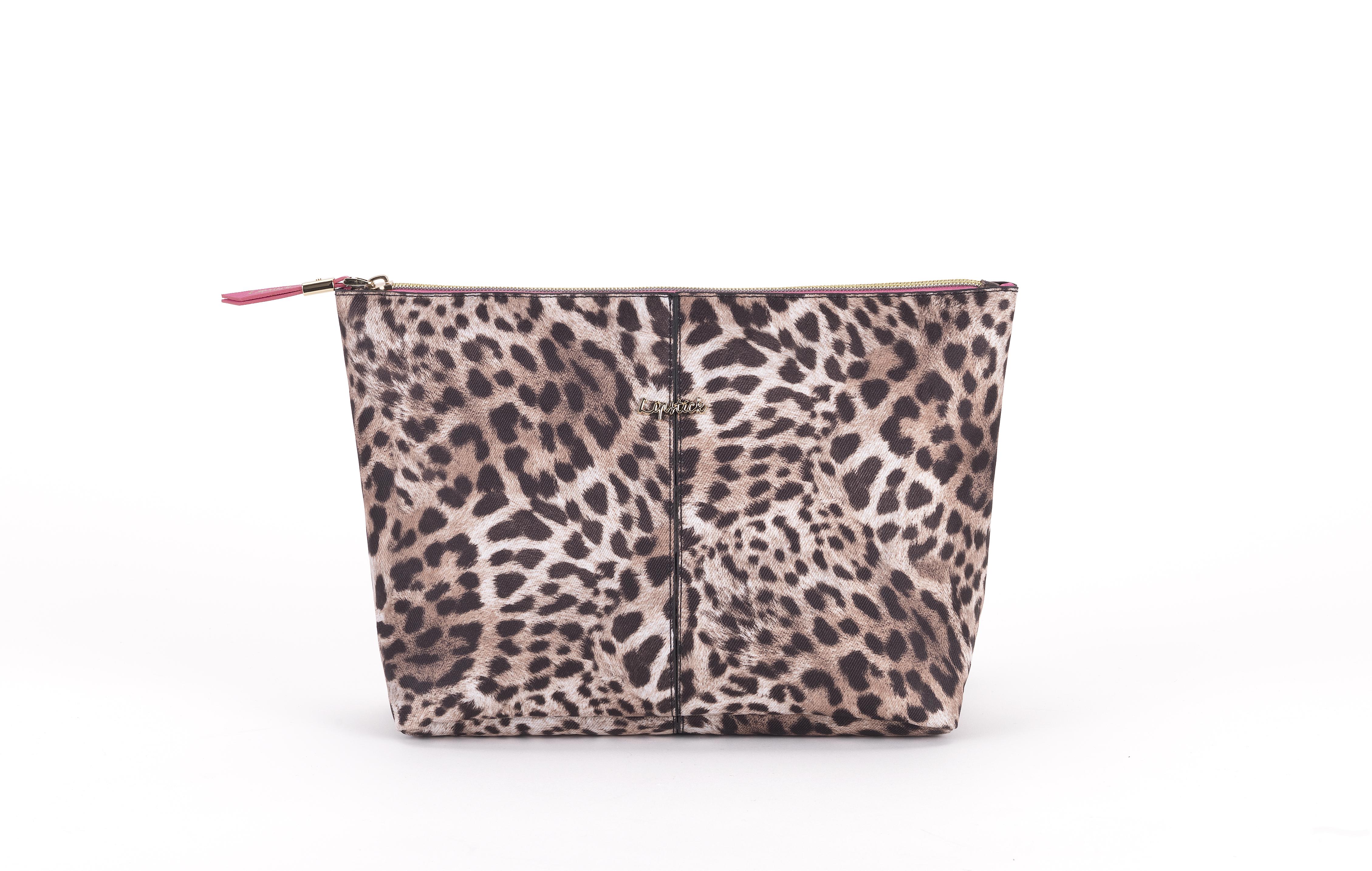 Купить JJDK Косметичка Kiobi большая нейлон, леопард
