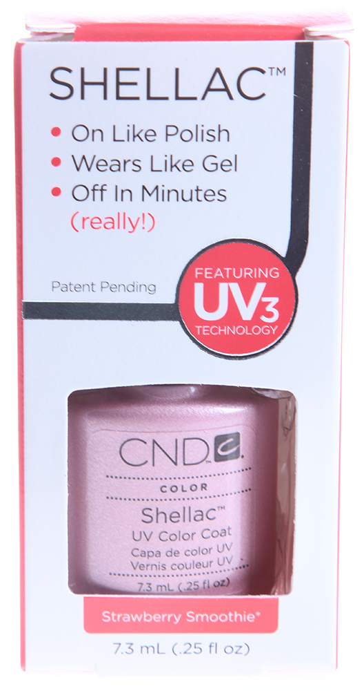 CND 012 покрытие гелевое Strawberry Smoothie / SHELLAC 7,3мл