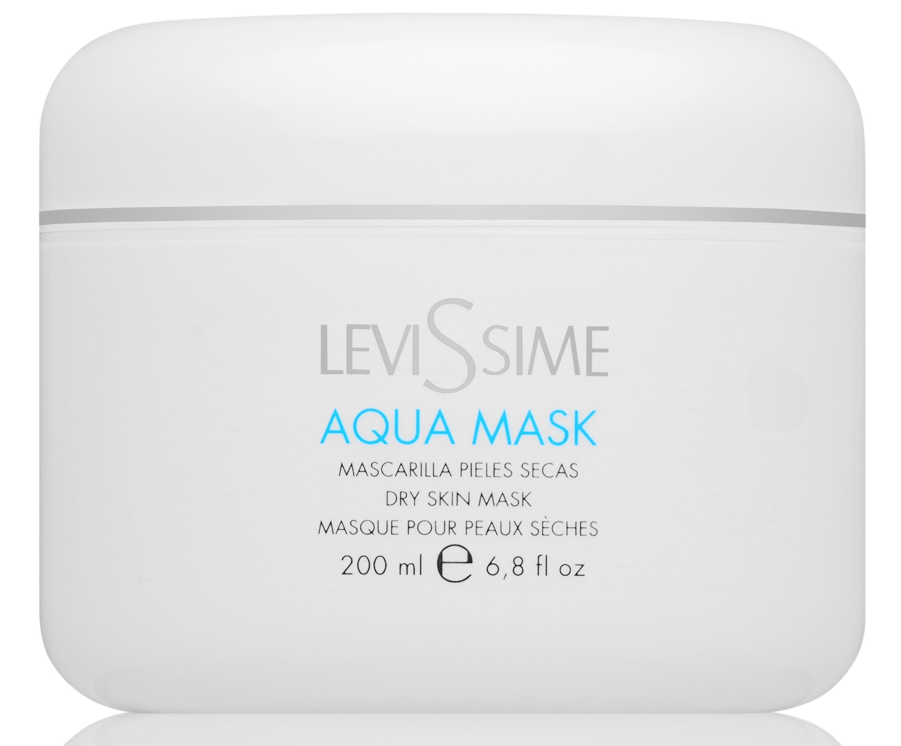 LEVISSIME Маска увлажняющая / Aqua Mask 200 мл