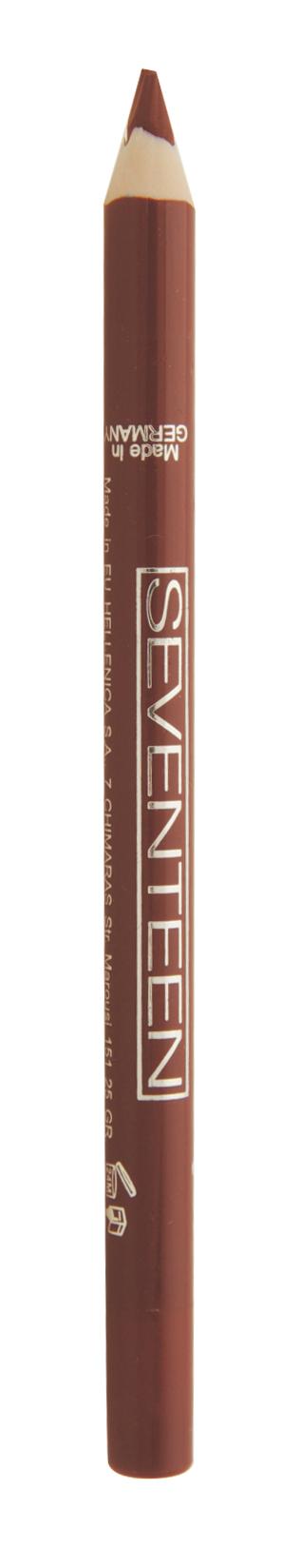 SEVENTEEN Карандаш для губ водостойкий с витамином Е, 01 натуральный бежевый / Super Smooth W/P Lip Liner 1,2 г косметические карандаши seventeen карандаш для губ водостойкий с витамином е super smooth w p lip liner 32