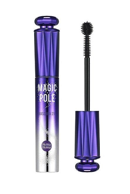 HOLIKA HOLIKA Тушь с кисточкой-шариком 01, объем и подкручивание Мэджик Пол / Magic Pole Mascara 2X Volume and Curl 9мл