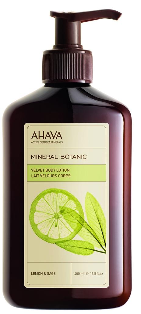 AHAVA Крем бархатистый для тела, лимон и шалфей / Mineral Botanic 400 мл