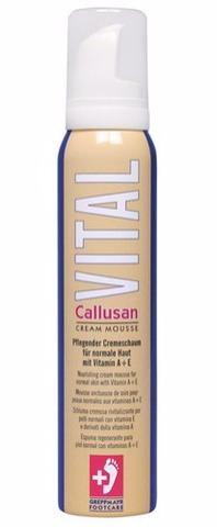CALLUSAN Пенка & Каллюзан Виталь&  (витамины А+Е) 125мл -  Пенки