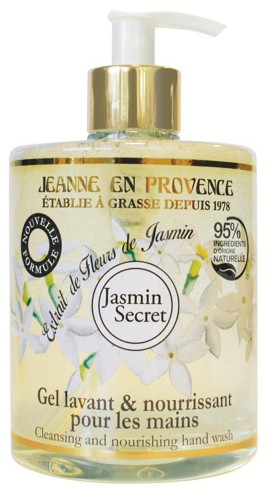 Купить JEANNE EN PROVENCE Гель очищающий для рук Секрет жасмина 500 мл