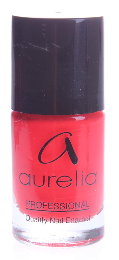 AURELIA 709 лак для ногтей / PROFESSIONAL 13млЛаки<br>&amp;laquo;Алый закат&amp;raquo; - красный коралловый эмалевый глянцевый лак Покрывающая способность: плотный лак. Aurelia Professional &amp;mdash; лаки профессионального качества и эксклюзивных цветов на основе инновационных пигментов последнего поколения, часто обновляемые в соответствии с модными тенденциями сезона. Способ применения: Нанесите лак для ногтей, равномерно распределив по всей ногтевой пластине. Лак можно наносить на чистые ногти, но для более стойкого эффекта рекомендуется использовать базовое и верхнее покрытия.<br><br>Цвет: Красные<br>Виды лака: Глянцевые