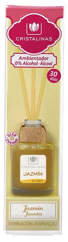 CRISTALINAS Диффузор ароматический Жасмин и белые цветы / Mikado 18 мл