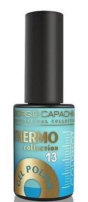 Купить GIORGIO CAPACHINI 13 гель-лак трехфазный для ногтей / Thermo 7 мл, Синие