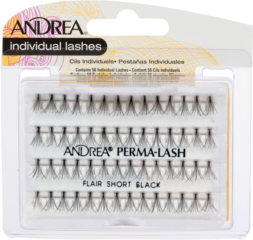 ANDREA Пучки ресниц короткие черные / MOD Perma Lash Flair Short