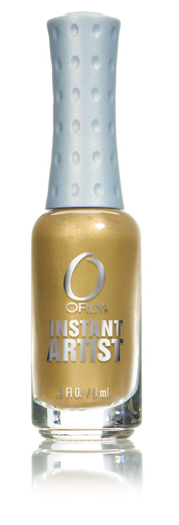 ORLY Краска для дизайна ногтей 11 Solid Gold / Instant Artist 9мл