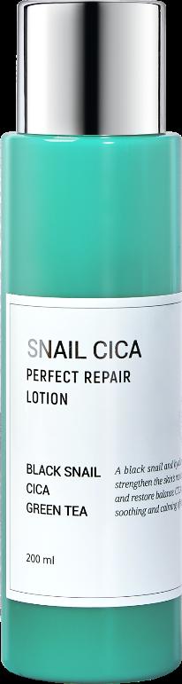 Купить ESTHETIC HOUSE Лосьон для лица с муцином улитки и центеллой / Snail Cica Perfect Repair Lotion 200 мл