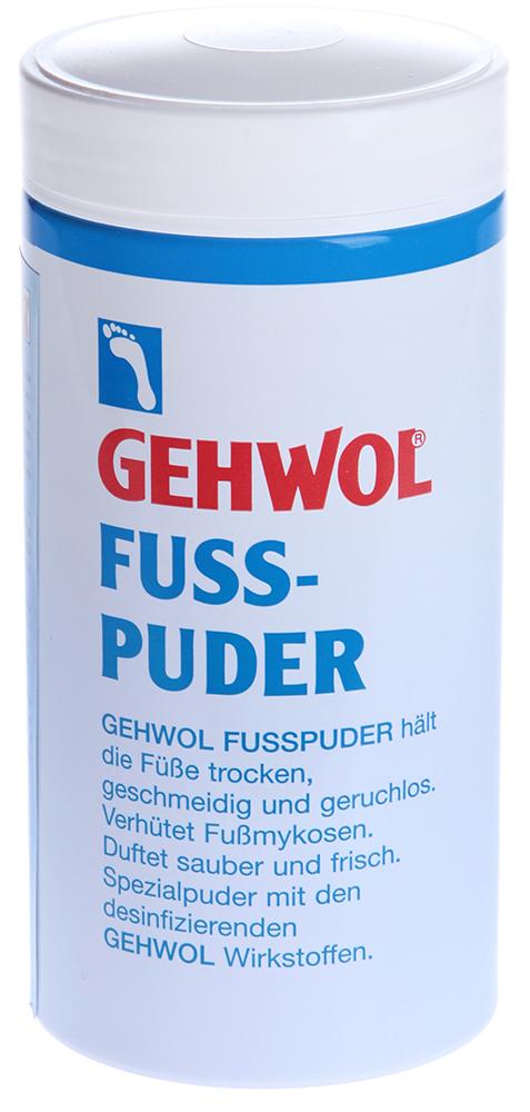 GEHWOL Пудра для ног 100грПудры<br>Специальная пудра &amp;ndash; адсорбент влаги (пота) с дезинфицирующими ингредиентами. Она помогает содержать ноги сухими, смягчает кожу, предотвращает появление запаха и грибковые инфекции. Пудра придает ощущение бархатности и нежности кожи. Используется при решении проблем: Как основное средство Потливость, запах пота, опрелости Защита ног в открытой обуви Как дополнительное средство Спортивные нагрузки Проблемы новой обуви.<br><br>Объем: 100