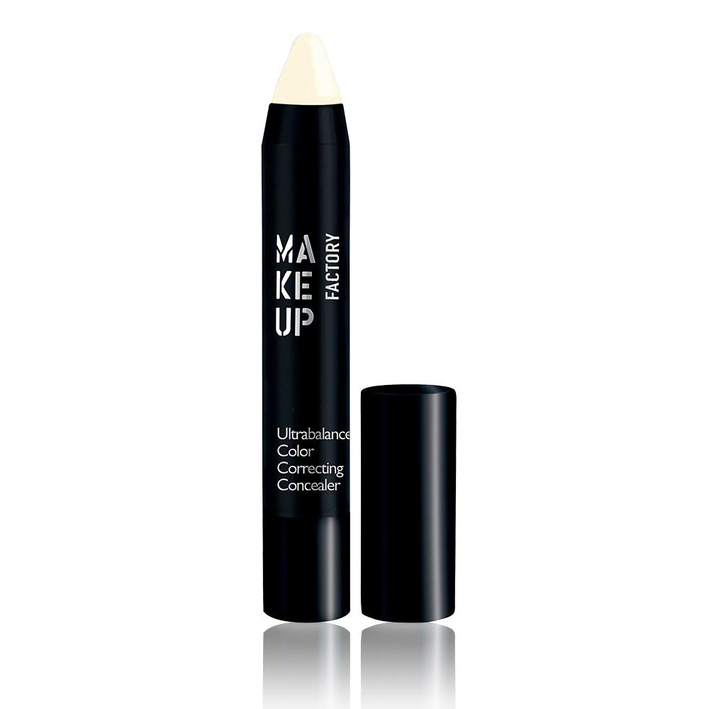MAKE UP FACTORY Карандаш маскирующий, 01 светлый беж / Ultrabalance Color Correcting Concealer 2,9 г