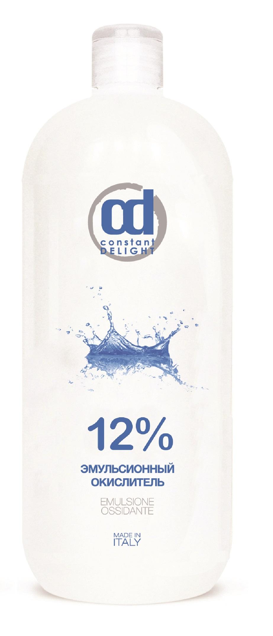 CONSTANT DELIGHT Окислитель эмульсионный 12% белый / Oxigent, 1000 мл