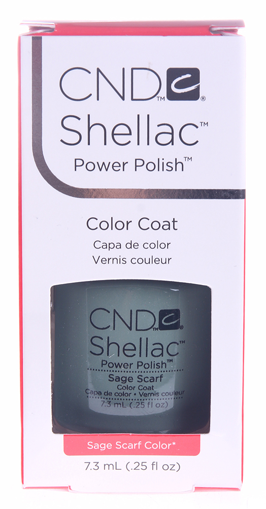 CND 045S покрытие гелевое Sage Scarf / SHELLAC 7,3мл