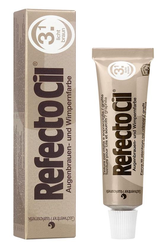 Купить REFECTOCIL Краска для бровей и ресниц, № 3.1 светло-коричневый 15 мл
