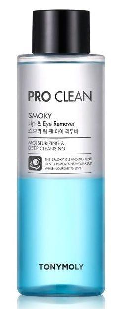 TONY MOLY Средство для снятия макияжа с губ и глаз / Pro Clean Smoky Lip & Eye Remover 250 мл