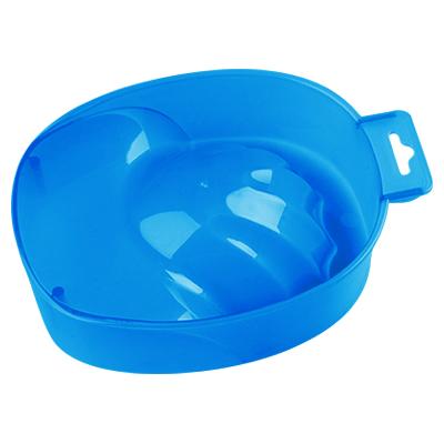 IRISK PROFESSIONAL Ванночка пластиковая для маникюра, 14 прозрачно-синяя