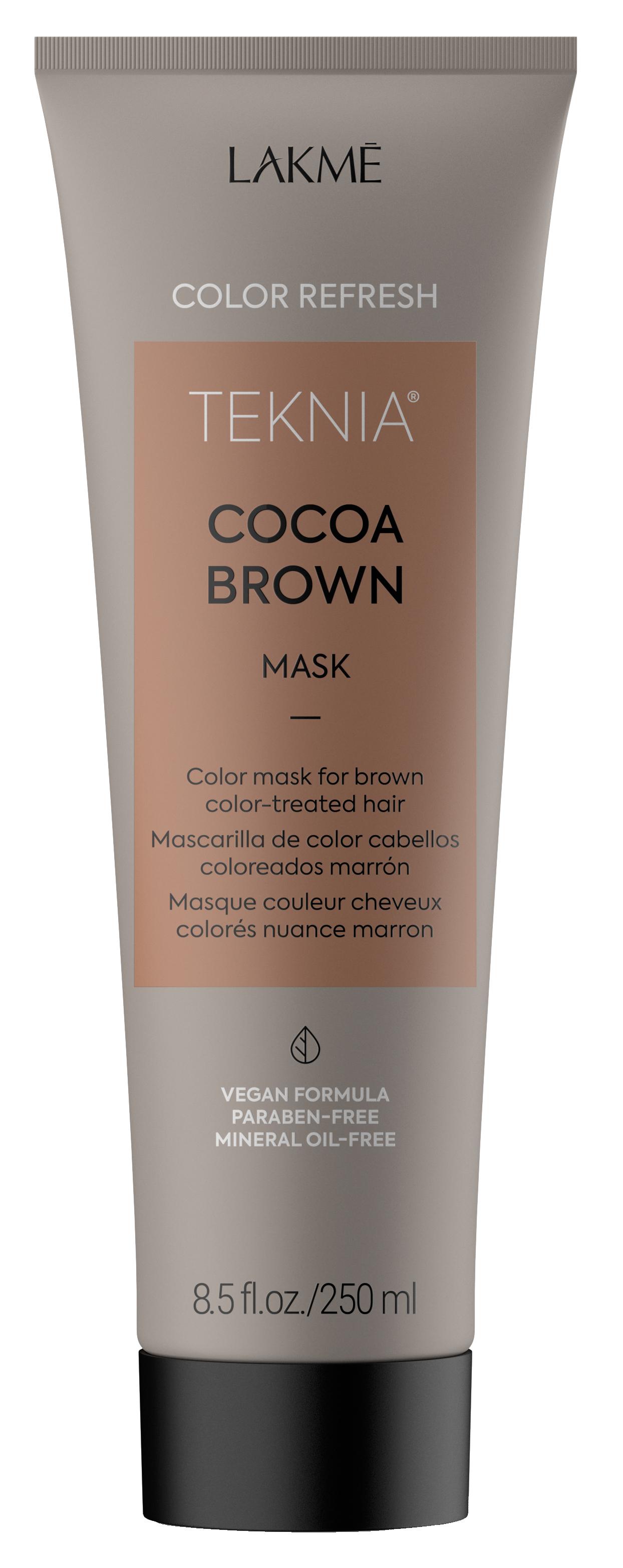 Купить LAKME Маска для обновления цвета коричневых оттенков волос / REFRESH COCOA BROWN MASK 250 мл