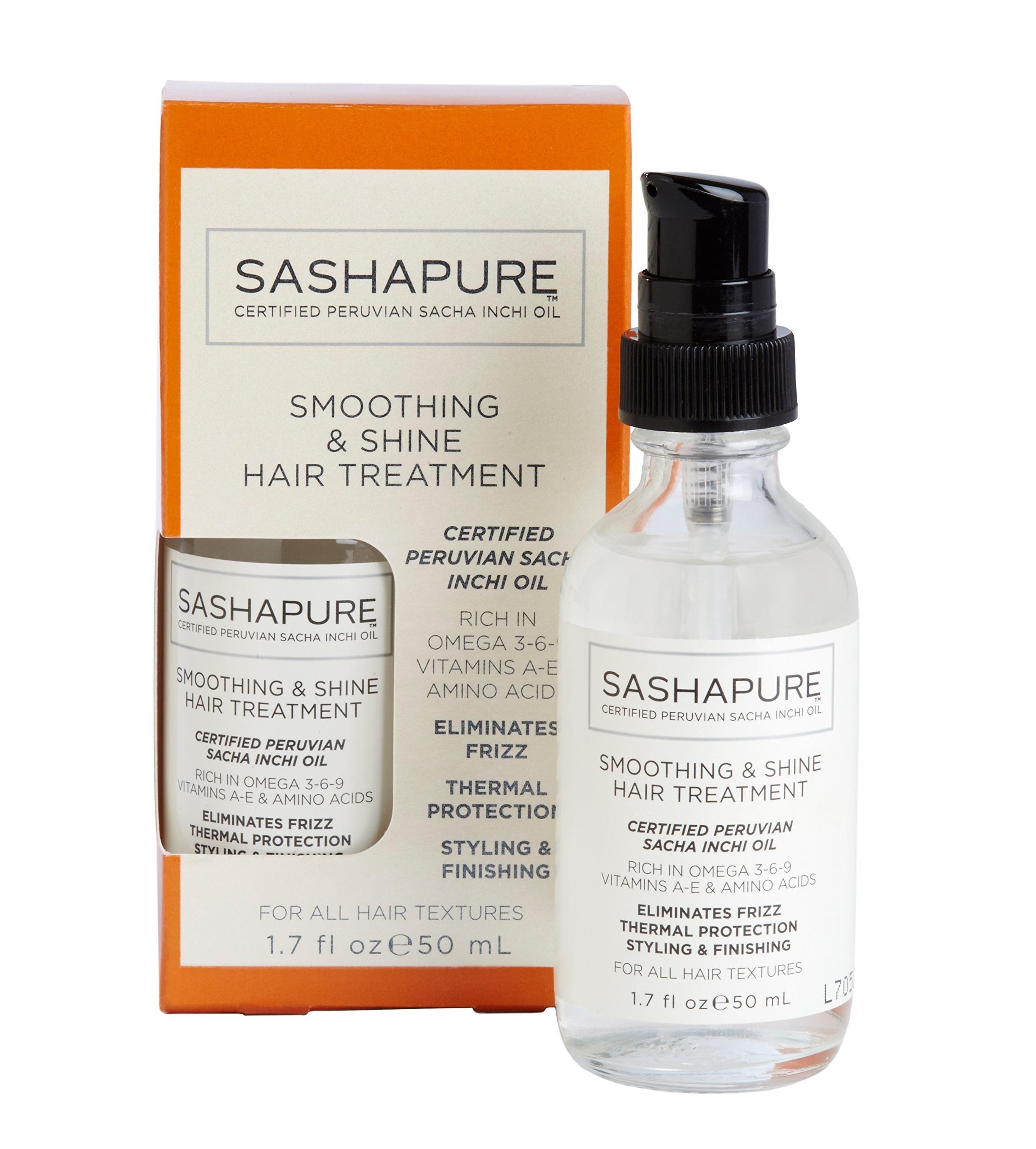 Сыворотка разглаживающая для волос с натуральными маслами / Shine #and# Smoothing Treatment 50 мл