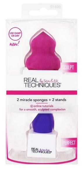 REAL TECHNIQUES Набор спонжей для скульптурирования / 2 Miracle Sponges