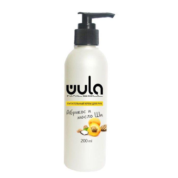 Купить WULA NAILSOUL Крем питательный для рук и ногтей, Абрикос и масло Ши / Wula nailsoul 200 мл