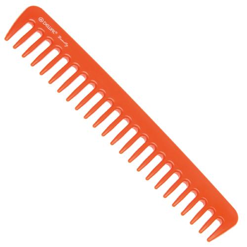 DEWAL BEAUTY Гребень оранжевый 18 см