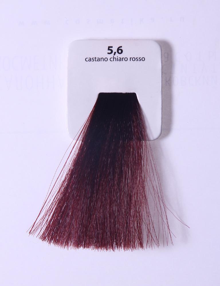 KAARAL 5.6 краска для волос / Sense COLOURS 100млКраски<br>5.6 светлый красный каштан Перманентные красители. Классический перманентный краситель бизнес класса. Обладает высокой покрывающей способностью. Содержит алоэ вера, оказывающее мощное увлажняющее действие, кокосовое масло для дополнительной защиты волос и кожи головы от агрессивного воздействия химических агентов красителя и провитамин В5 для поддержания внутренней структуры волоса. При соблюдении правильной технологии окрашивания гарантировано 100% окрашивание седых волос. Палитра включает 93 классических оттенка. Способ применения: Приготовление: смешивается с окислителем OXI Plus 6, 10, 20, 30 или 40 Vol в пропорции 1:1 (60 г красителя + 60 г окислителя). Суперосветляющие оттенки смешиваются с окислителями OXI Plus 40 Vol в пропорции 1:2. Для тонирования волос краситель используется с окислителем OXI Plus 6Vol в различных пропорциях в зависимости от желаемого результата. Нанесение: провести тест на чувствительность. Для предотвращения окрашивания кожи при работе с темными оттенками перед нанесением красителя обработать краевую линию роста волос защитным кремом Вaco. ПЕРВИЧНОЕ ОКРАШИВАНИЕ Нанести краситель сначала по длине волос и на кончики, отступив 1-2 см от прикорневой части волос, затем нанести состав на прикорневую часть. ВТОРИЧНОЕ ОКРАШИВАНИЕ Нанести состав сначала на прикорневую часть волос. Затем для обновления цвета ранее окрашенных волос нанести безаммиачный краситель Easy Soft. Время выдержки: 35 минут. Корректоры Sense. Используются для коррекции цвета, усиления яркости оттенков, создания новых цветовых нюансов, а также для нейтрализации нежелательных оттенков по законам хроматического круга. Содержат аммиак и могут использоваться самостоятельно. Оттенки: T-AG - серебристо-серый, T-M - фиолетовый, T-B - синий, T-RO - красный, T-D - золотистый, 0.00 - нейтральный. Способ применения: для усиления или коррекции цвета волос от 2 до 6 уровней цвета корректоры добавляются в краситель по Правилу пятн