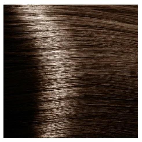 KAPOUS NA 6.07 краска для волос, насыщенный холодный темный блонд / Magic Keratin 100 мл