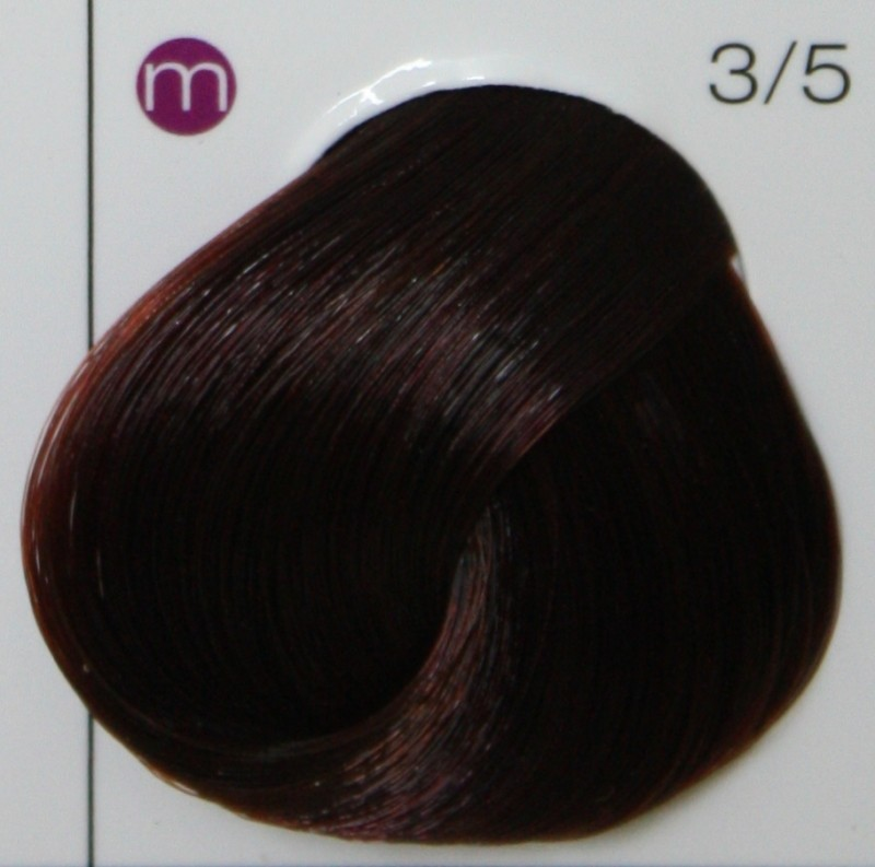 LONDA PROFESSIONAL 3/5 краска для волос, темный шатен красный / LC NEW micro reds 60мл