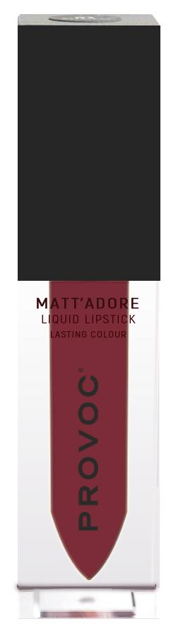 Купить PROVOC Помада жидкая матовая для губ 12 / MATTADORE Liquid Lipstick Queen 5 г