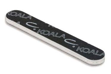CND Пилка моющаяся для натуральных ногтей Koala Buffer 240/1200 cnd пилка для акрилата boomerang грубая 100 100
