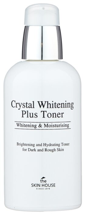 Купить THE SKIN HOUSE Тонер для выравнивания тона лица / Crystal Whitening 130 мл