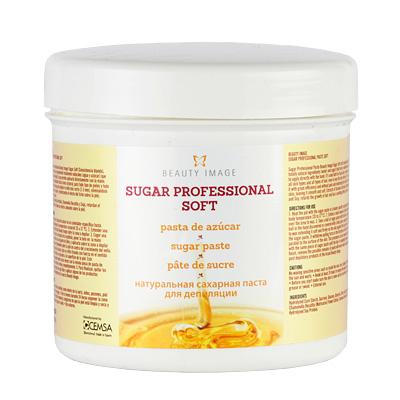 BEAUTY IMAGE Паста сахарная натуральная Sugar Professional Soft мягкой консистенции для депиляции 600гр
