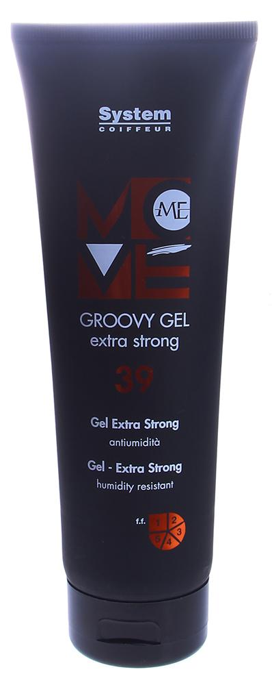 DIKSON Гель экстрасильной фиксации с эффектом цемента / GROOVY GEL EXTRA STRONG MOVE ME 250мл