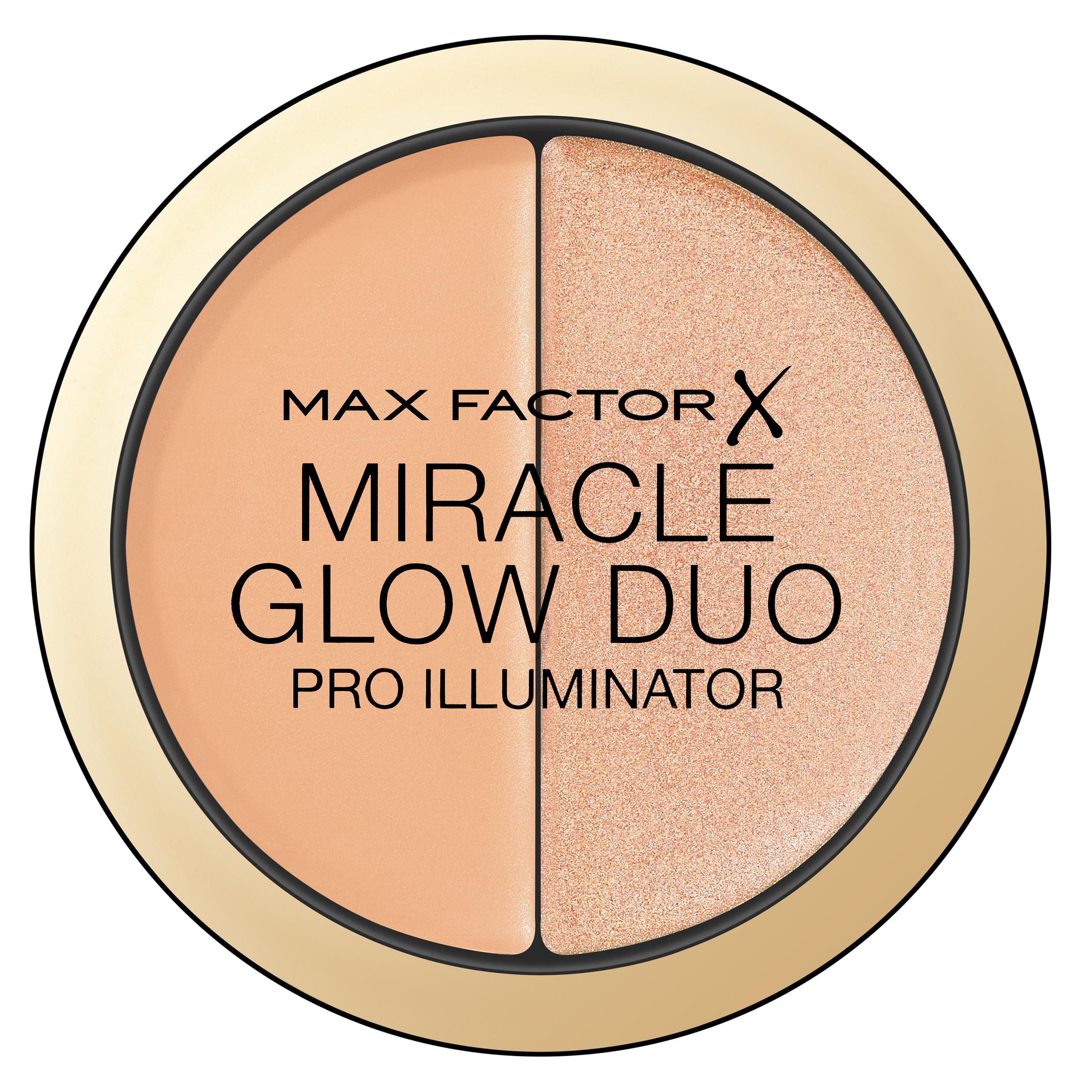 MAX FACTOR Хайлайтер 20 / Miracle Glow Duo medium